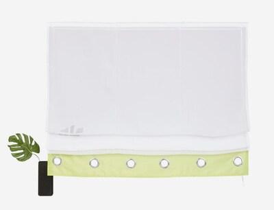 MY HOME Vorhang in grün / weiß, Produktansicht