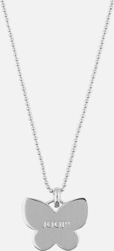 JOOP! Halskette Valentines mit Schmetterlings-Anhänger JPNL90700A420