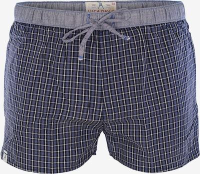 Luca David Pyjama-Shorts 'Olden Glory' in marine / schwarz / weiß, Produktansicht