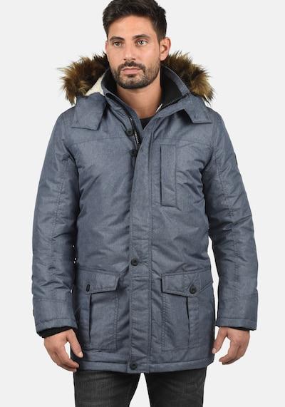 !Solid Winterjacke in taubenblau, Produktansicht