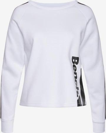 BENCH Sweatshirt in White