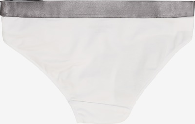 Calvin Klein Underwear Apakšbikses '2 PACK BIKINI' pieejami raibi pelēks / balts: Aizmugures skats