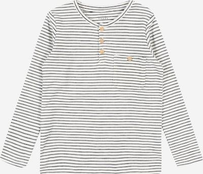 Tricou 'VALENTIN' NAME IT pe negru / alb, Vizualizare produs