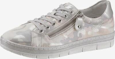 REMONTE Sneaker in beige / puder / silber, Produktansicht