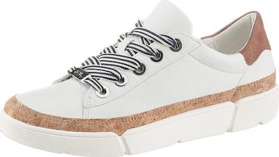 ARA Sneakers laag 'Rom' in de kleur Bruin / Wit, Productweergave