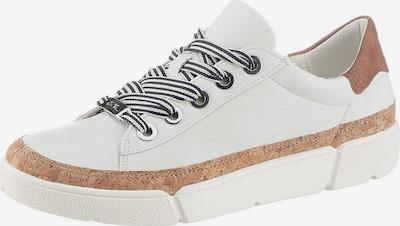 ARA Sneaker 'Rom' in braun / weiß, Produktansicht