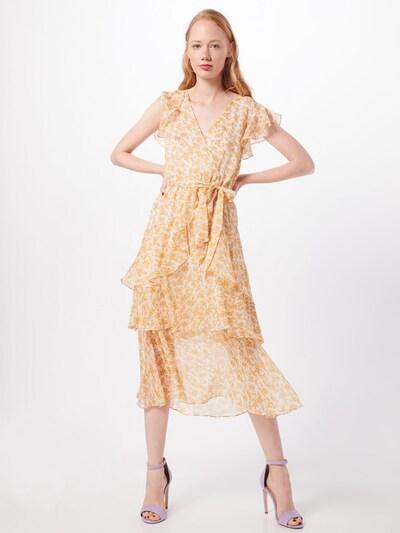 MINKPINK Kleid  'LANA' in hellorange / weiß, Modelansicht