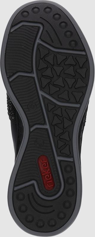 RIEKER Slipper im Sneaker-Look Verschleißfeste Schuhe billige Schuhe Verschleißfeste e52c23