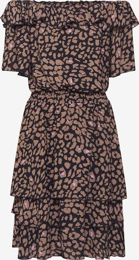 SISTERS POINT Kleid 'NICOLINE-OFF2' in braun / schwarz, Produktansicht