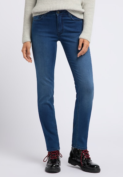MUSTANG Jeans ' Rebecca ' in blue denim, Modelansicht