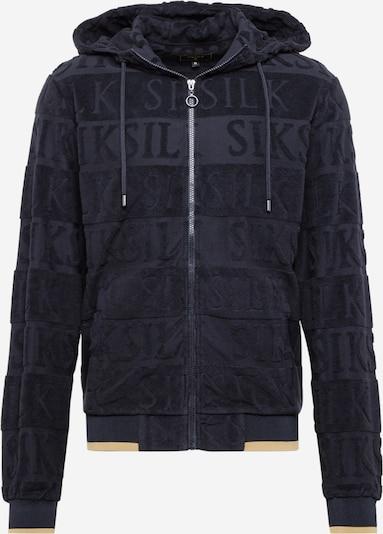 SikSilk Sweatjakke i sort, Produktvisning
