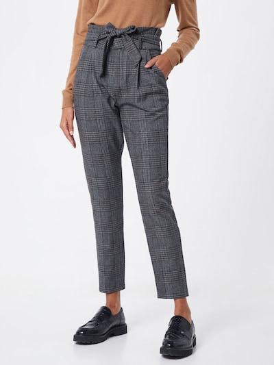 Pantaloni cu dungă 'EVA' VERO MODA pe gri închis: Privire frontală