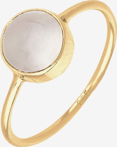 ELLI Ring 'Solitär-Ring' in gold, Produktansicht