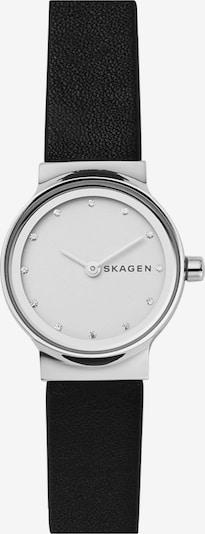 SKAGEN Damenuhr in schwarz / weiß, Produktansicht
