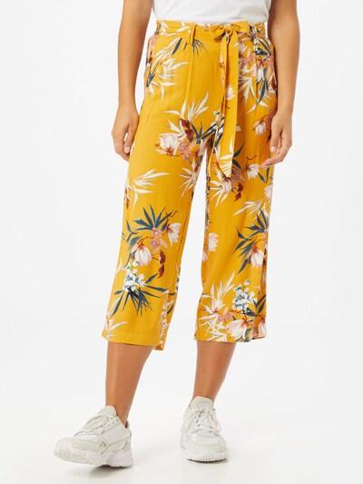 ONLY Kalhoty - zlatě žlutá / mix barev, Model/ka