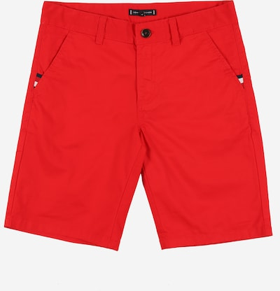 TOMMY HILFIGER Chino Shorts 'ESSENTIAL' in rot, Produktansicht