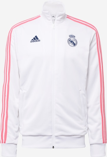 ADIDAS PERFORMANCE Sportjas 'REAL MADRID' in de kleur Nachtblauw / Rosé / Wit, Productweergave