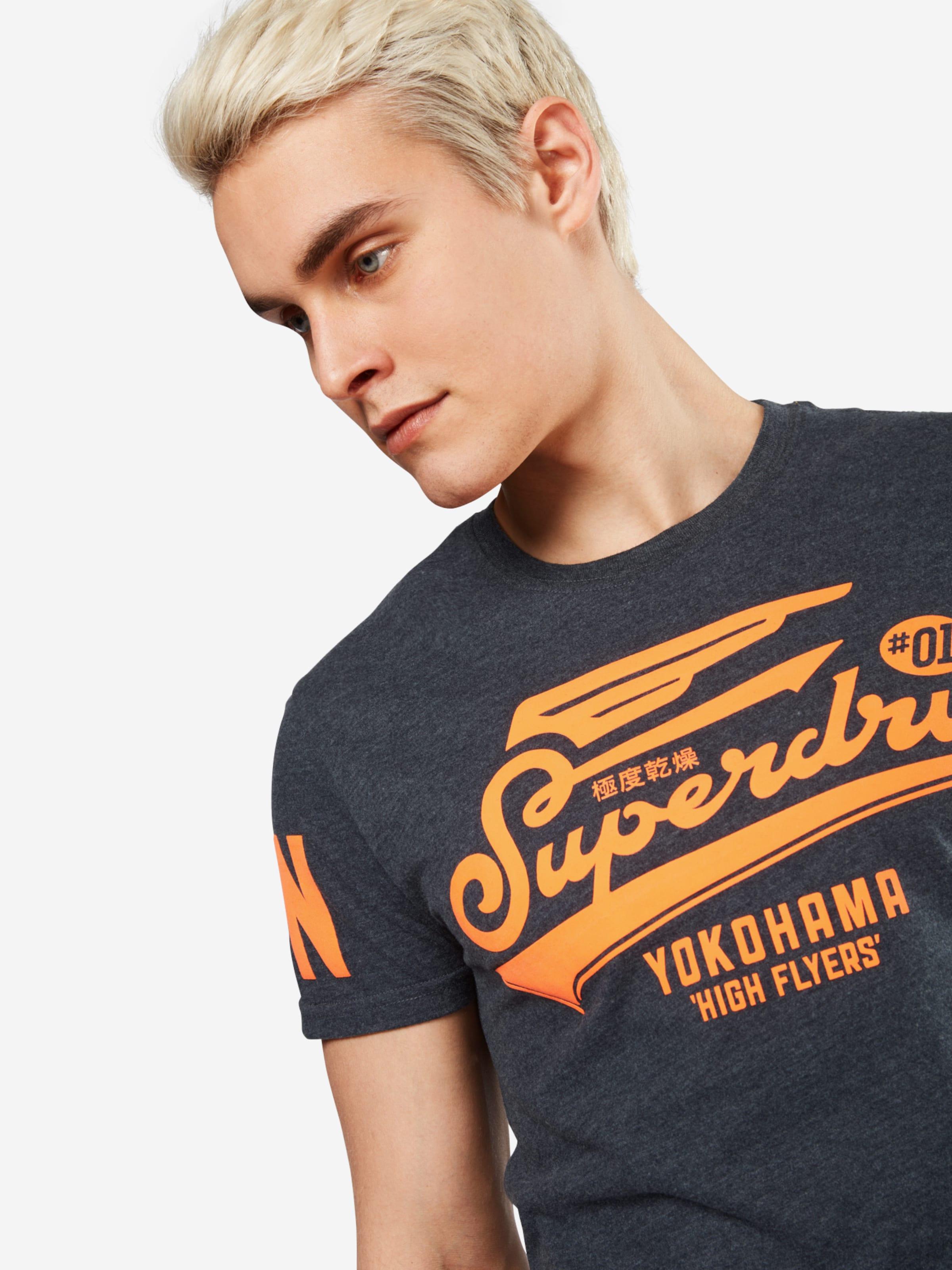 Superdry T-Shirt 'HIGH FLYERS LITE' Niedrigster Preis Verkauf Online Qualität Original Auslass Für Schön Jl44Io92e