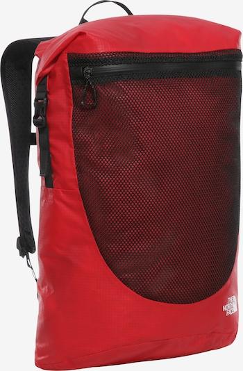 THE NORTH FACE Rucksack in rot / schwarz, Produktansicht