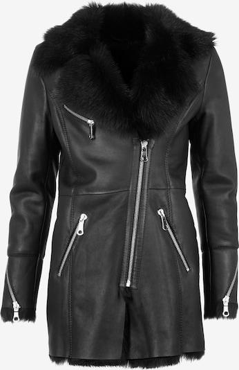 Maze Wintermantel 'Lydia' in de kleur Zwart, Productweergave