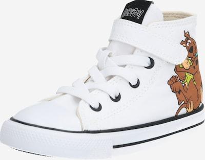 Sneaker 'CTAS 1V HI WHITE/MULTI/BLACK' CONVERSE pe culori mixte / alb, Vizualizare produs