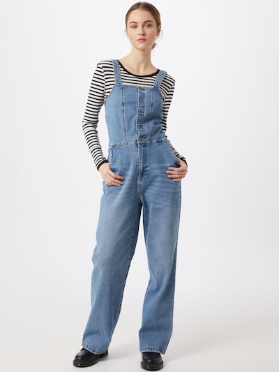 OBJECT Jumpsuit in blau, Modelansicht