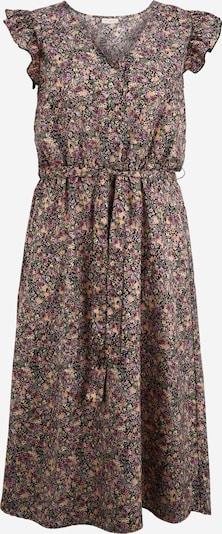 Rochie de vară 'FAVE' ONLY Carmakoma pe culori mixte / negru: Privire frontală