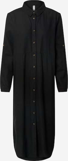 Soyaconcept Sukienka koszulowa 'Ina 8' w kolorze czarnym: Widok z przodu