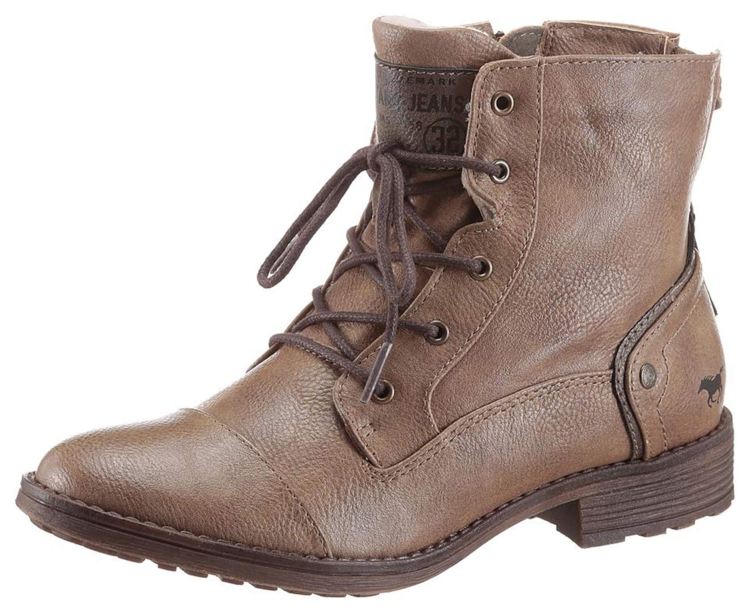 Mit Kreditkarte Günstig Online MUSTANG Shoes Schnürstiefelette Günstig Kaufen Bestseller huVKWgn