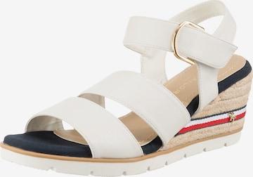 TOM TAILOR Sandale in Weiß
