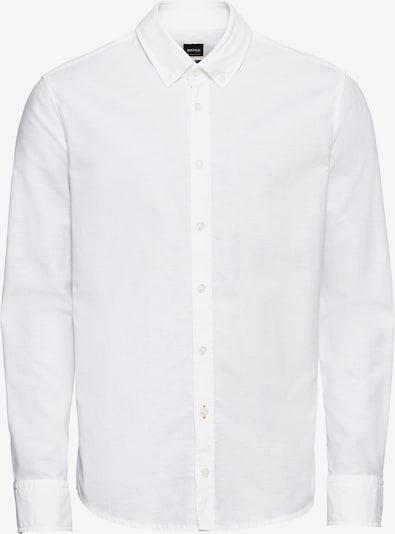 BOSS Overhemd 'Mabsoot' in de kleur Wit, Productweergave