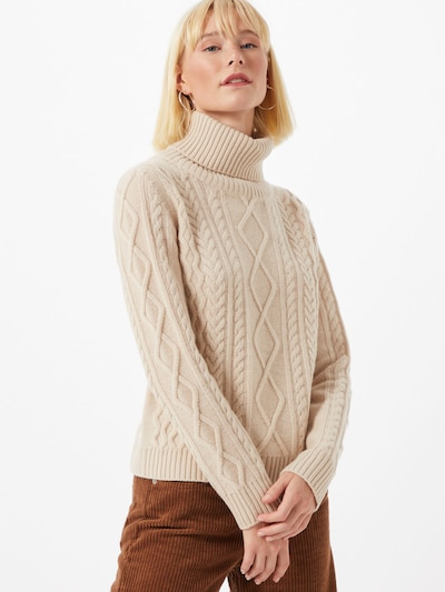 Weekend Max Mara Pullover 'Pensile' in puder: Frontalansicht