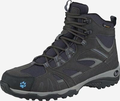 JACK WOLFSKIN Halbschuhe 'Vojo Hike Mid Texapore' in dunkelblau / dunkelgrau, Produktansicht
