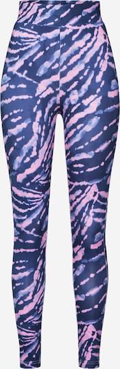 Urban Classics Leggings en bleu / violet / rose, Vue avec produit