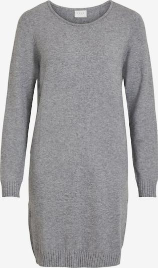 VILA Knit dress in light grey, Item view