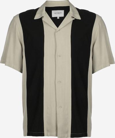 Carhartt WIP Kurzarmhemd ' Lane ' in creme / schwarz, Produktansicht