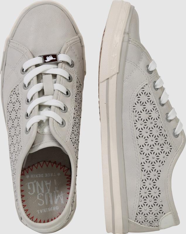 MUSTANG | Sneaker mit Strass-Besatz