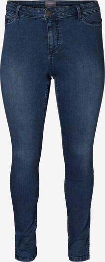 Junarose Stretch Slim Fit Jeans in blue denim, Produktansicht
