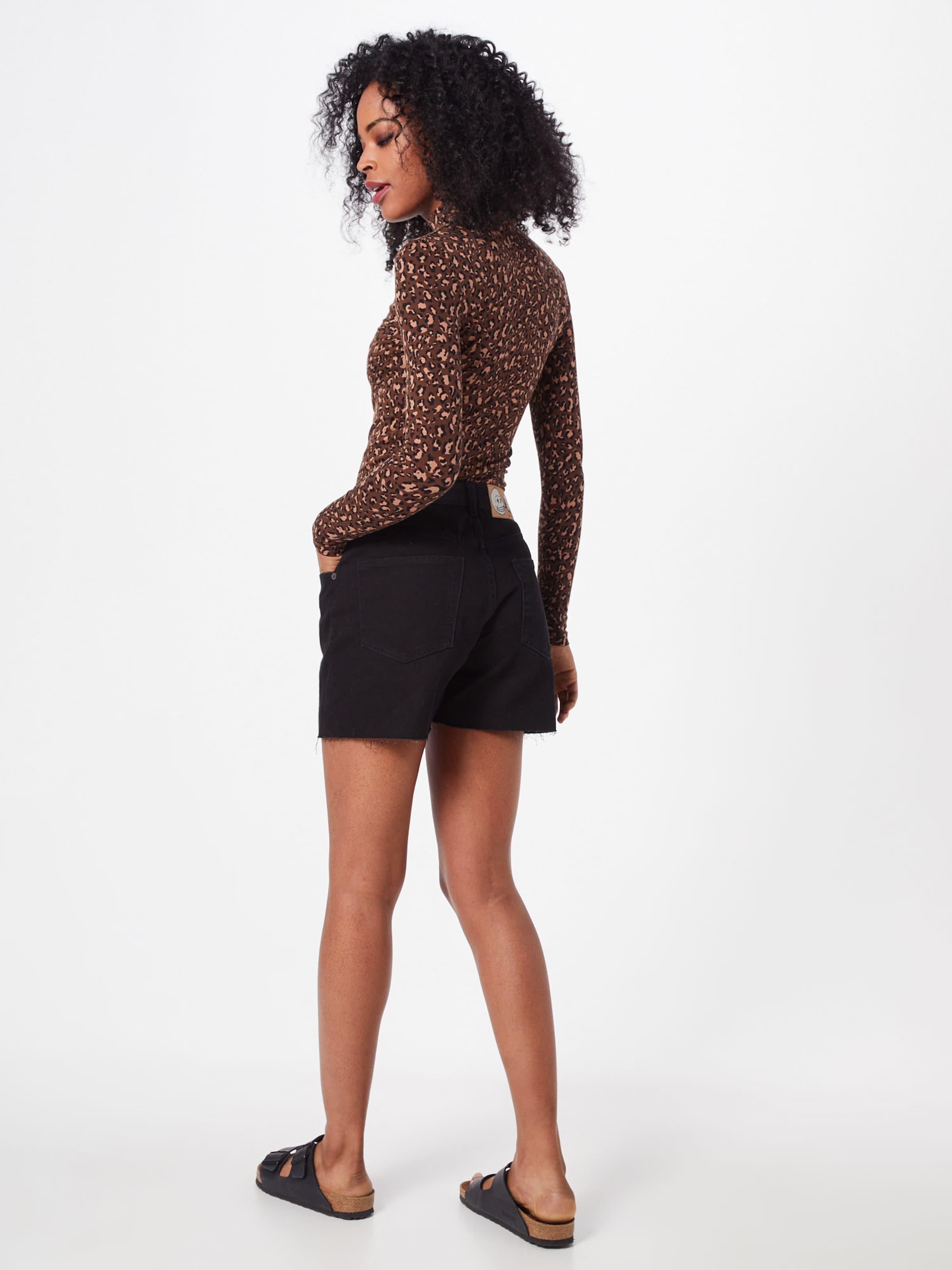 Cheap In Schwarz Monday 'donna' Jeansshorts rdEBeoxQCW
