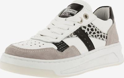 BULLBOXER Sneaker in beige / schwarz / weiß, Produktansicht