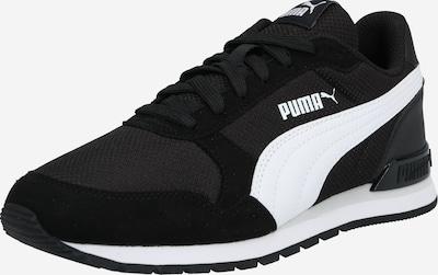 PUMA Baskets 'ST Runner' en noir / blanc: Vue de face