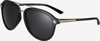 VERSACE Saulesbrilles 'Pilotenbrille' melns, Preces skats