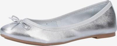 MARCO TOZZI Ballerinas in silber, Produktansicht