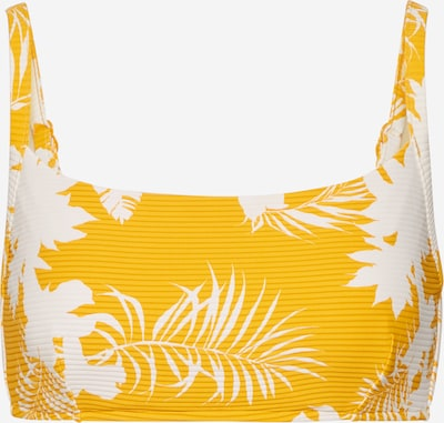 Seafolly Hauts de bikini en moutarde, Vue avec produit