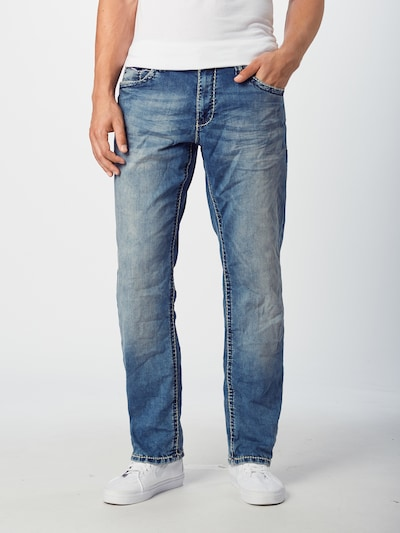 CAMP DAVID Jeans in blue denim, Modelansicht