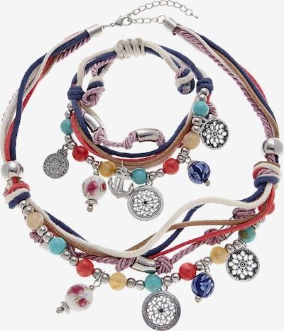 LASCANA Ketten und Armband in mischfarben, Produktansicht