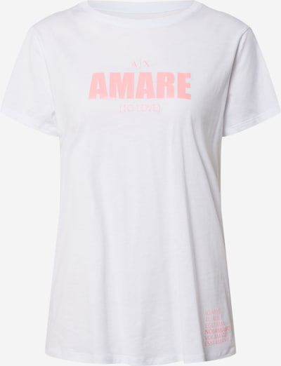 ARMANI EXCHANGE Shirt in de kleur Rosa / Wit, Productweergave