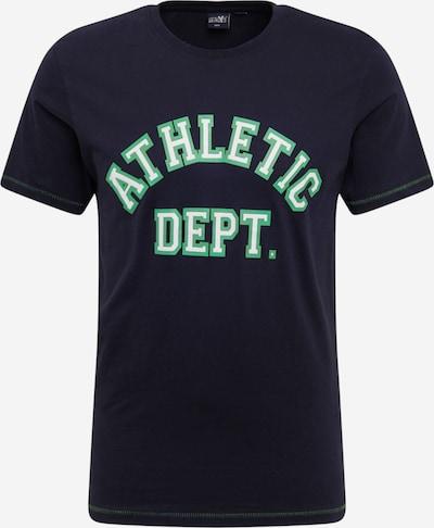 Hailys Men T-Shirt 'Greenery' in schwarz, Produktansicht