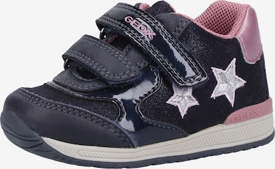 GEOX Sneaker in navy / rosa, Produktansicht