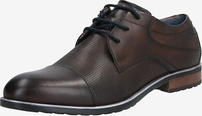 bugatti Čevlji na vezalke | temno rjava barva, Prikaz izdelka